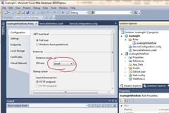 Windows Azure VM size setting