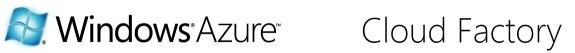 Windows Azure Cloud Factory