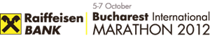 Bucharest International Marathon 2012 logo