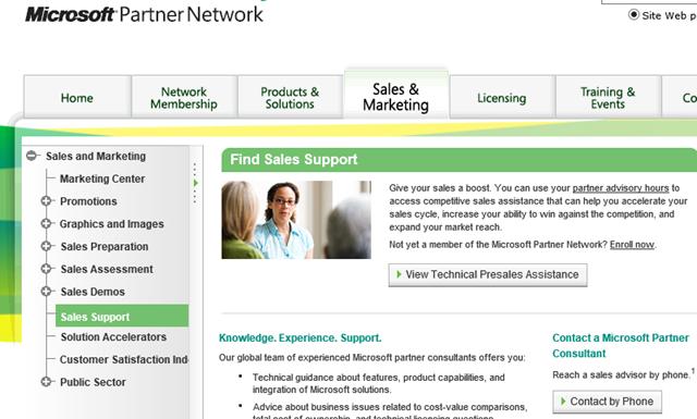 Technical Sales Assistance
