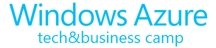 Windows Azure tech&business camp