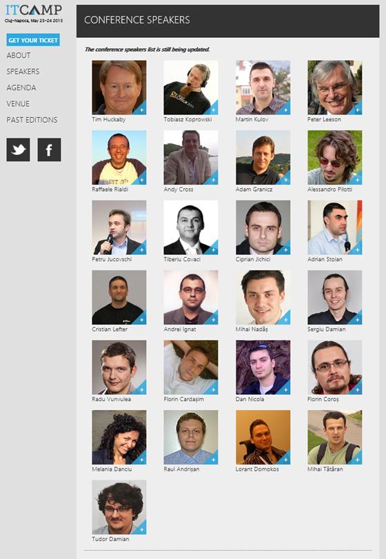 ITCamp 2013 speakers