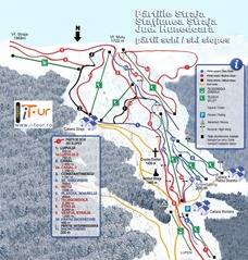 Harta-partii-schi-Straja-Hunedoara