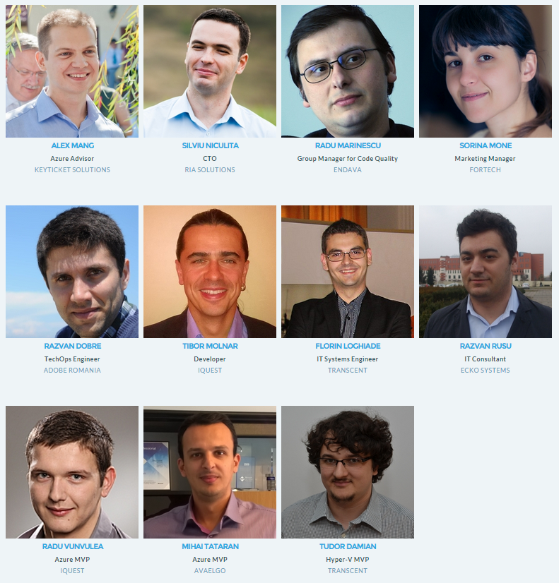 ITCamp speakers
