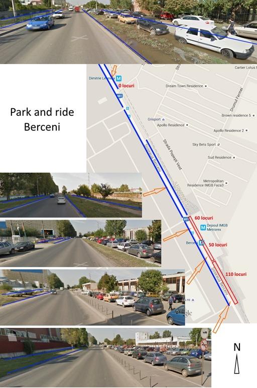 Berceni park and ride
