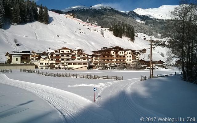 pistă de schi fond în Tux, Austria