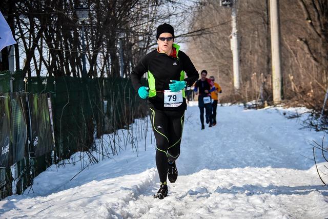 Zoli la întoarcerea de pe traseul de alergare