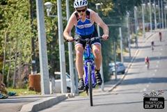 Zoli în proba de bicicletă - Triatlon Buftea