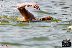 Zoli în proba de înot - Triatlon Buftea