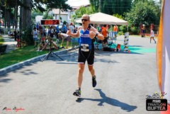 Zoli la finish - Triatlon Buftea