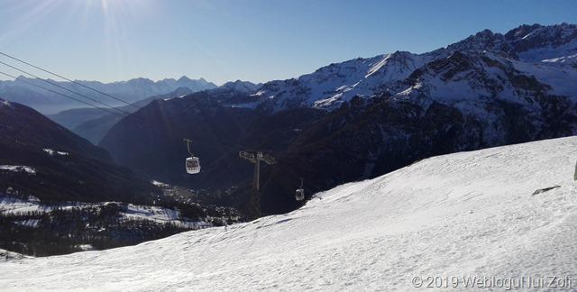 Gondola din Valtournenche